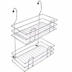 Stainless Steel Double Hanging Rack