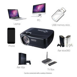 LED Projector, Light Output: 2001-4000 Lumens