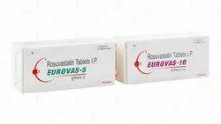 Eurovas-5/10/20 (Rosuvastatin Tablets I.P.)