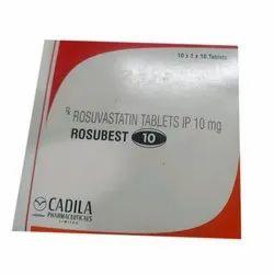 10 Mg Rosuvastatin Tablet