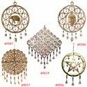 Wrought Iron Handmade Indian Wind Chimes Garden Outdoor Home Decoration