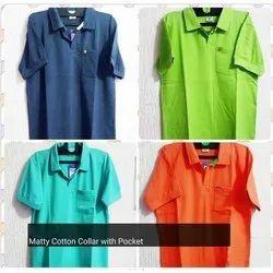 Matty Cotton Collar with Pocket