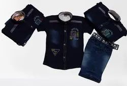 Denim Kids Suit