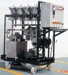 Fire Resistant Hydraulic Oil Cleaning Machine
