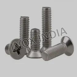 SS 316 CSK Phillips Screws