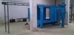 Metal Conveyorised Powder Recovery Booth, Automation Grade: Automatic