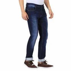 Denim Casual Wear Blue Slim Fit Jeans