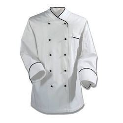 Full Sleeve White Cotton Hotel Chef Coat