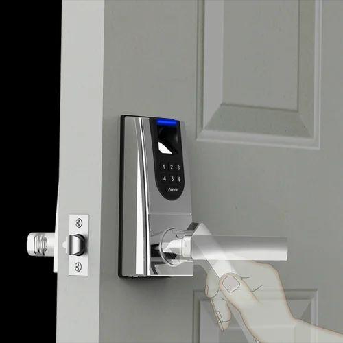 Biometric Door Lock, Stainless Steel, Rs 10000 /piece, Prazision ...