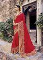 Designer Heavy Wedding Wear Saree