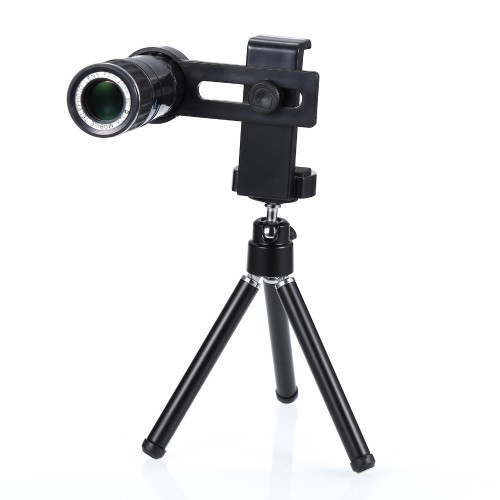 Mobile Phone Telescope 8x Zoom Lens With Tripod Stand