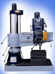 75mm Heavy duty double column all geared radial drilling machine