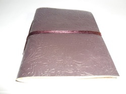 Embossed Leather Handmade Writing Journal