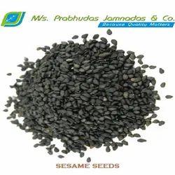 PJ Black Sesame Seed, For Agriculture, Packaging Size: 25 Kg And 50 Kg