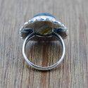 Labradorite Gemstone Handmade Jewelry 925 Silver Ring