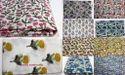 Mugal Buta Flower Printed Hand Block Cotton Fabric
