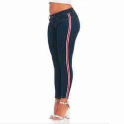 Slim Fit Womens Trendy Denim Jeans, Packaging Type: Packet, Waist Size: 28-40