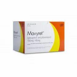 Mavyret Glecaprevir Pibrentasvir 100 mg/40 mg