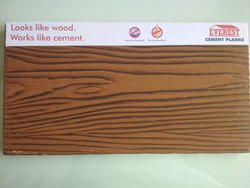 Rectangle Everest Cement Wood Planks, Size: 6inch * 10ft * 7.5mm