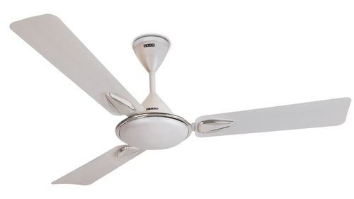 Vetra Plus Pearl White Chrome Ceiling Fans