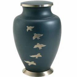 Aria Ascending Doves Metal Cremation Urn