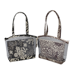 Tokra Impex Animal Printed 10 Oz Canvas Handbag, 310 Gram, Size: 24 X 35 X 8 cm (w X H X L)