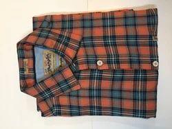 Cotton Casual, Formal Men Long Sleeve Checked Shirt