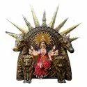Maa Durga Fiber Statue