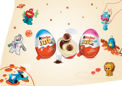 Kinder Joy Yummy Delight With A Surprise Toy