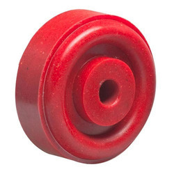 Red PP Trolley Wheel