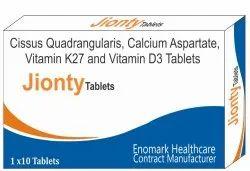 Cissus Quadrangularis Calcium Aspartate Vitamin K27 And Vitamin D3