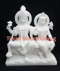 Marble Laxmi Vishnu Moorti