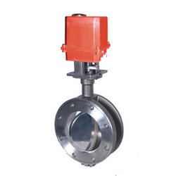 Electrical Actuator Operated Rubber Lined Butterfly Valves