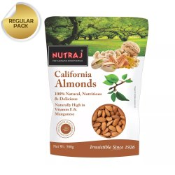 Nutraj California Almonds 500g