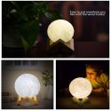 Color Changing Moon Light 3D Crystal Ball Night Light for Room Night Lamps-Moon