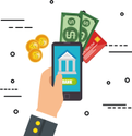 Online/cloud-based Wallie Mobile Money Wallet