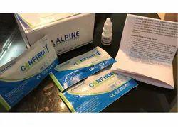 Alpine Covid 19 IgM/IgG Antibody Rapid Test Kit, ICMR Approved