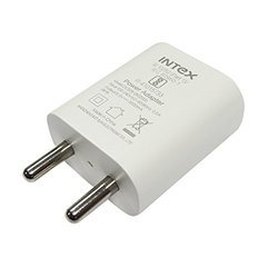 Intex USB Charger 1Amp Micro USB Cable (ISC1016U1) - White, Warranty: 1 Year