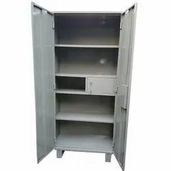 Grey Metal Office Almirah With One Locker