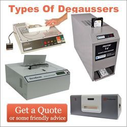 Types Of Degaussers