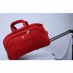 H-518 Duffle Trolley Bag