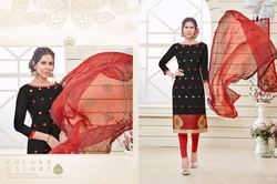 Printed Dress Material Latest Designer Salwar Kameez