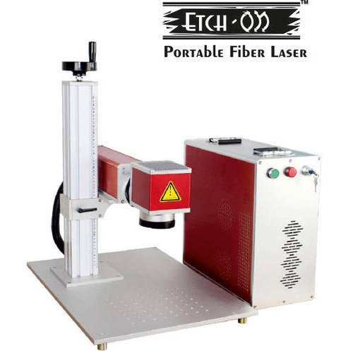 Split type Fiber Laser Marking Machine, Model : EtchON FLE403D