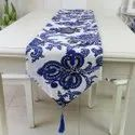 Kinkob Printed Hotel Banquet Table Runner