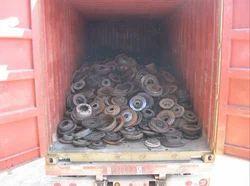 Brown Cast Iron Scrap