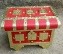 Red Decorative Jewellery Box For Bridal Gifts