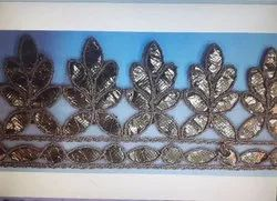 Single Sided 1 inch Rose Gold Lace, For Dupatta
