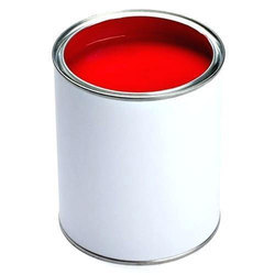 Red Water Based Exterior Wall Paint, for Roller, Packaging Type: Tin