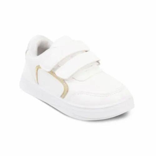 kids white gym shoes