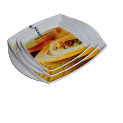 Printed Serving Tray Set of 3 Pcs.